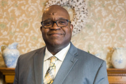 Herman McCall Vice Chair for Homestead Savings Bank in Albion Michigan