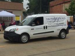 Homestead Savings Bank Truck