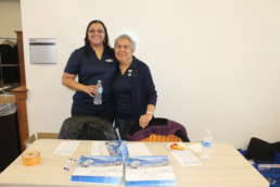 Homestead Savings Bank team at the Own it Albion community event